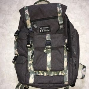 Under Armour Project Rock USDNA regiment backpack
